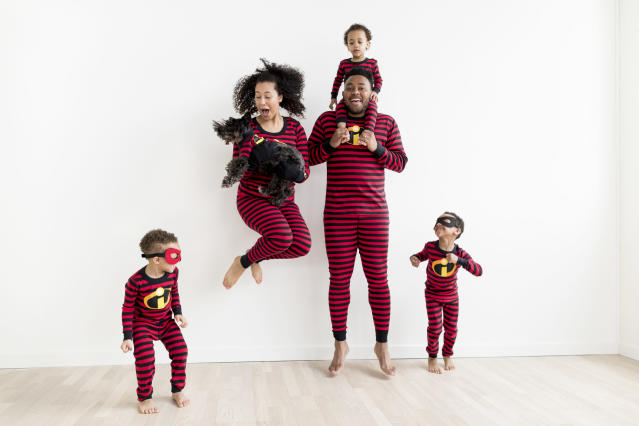 <p>Incredibles pajama collection, Hanna Anderson, $20-$48. (Photo: Courtesy of Disney Products and Interactive Media) </p>