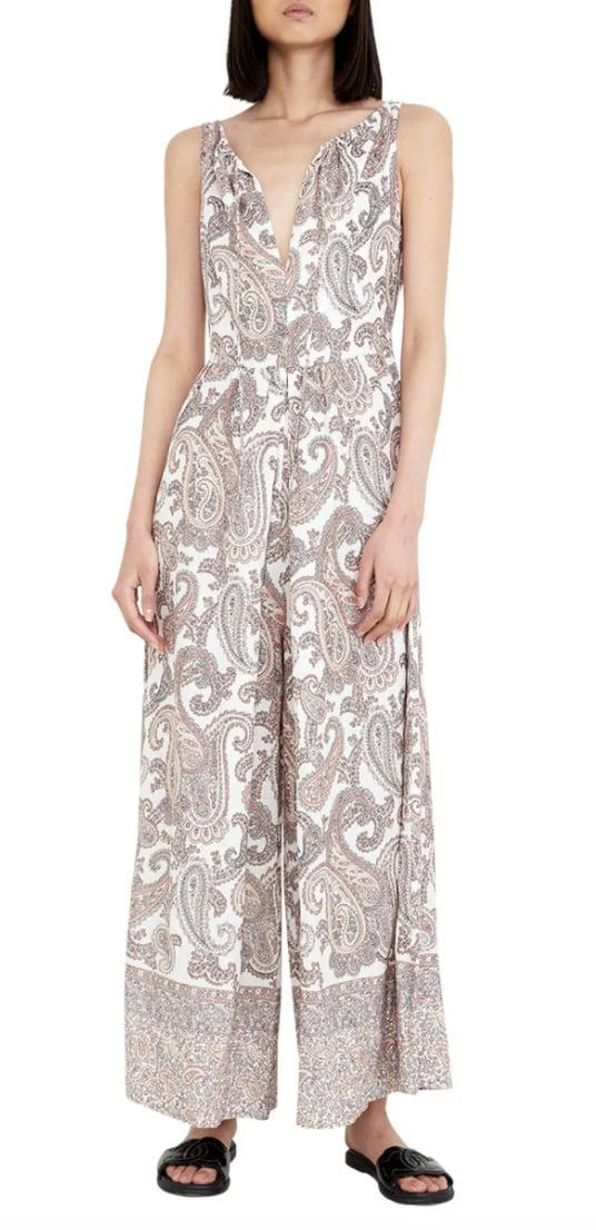 <p>The print of this <span>Bardot Paisley Sleeveless Wide Leg Jumpsuit</span> ($60, originally $169) adds a cool touch.</p>