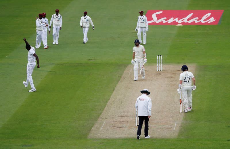 Back sweat replaces saliva but England struggle vs Windies