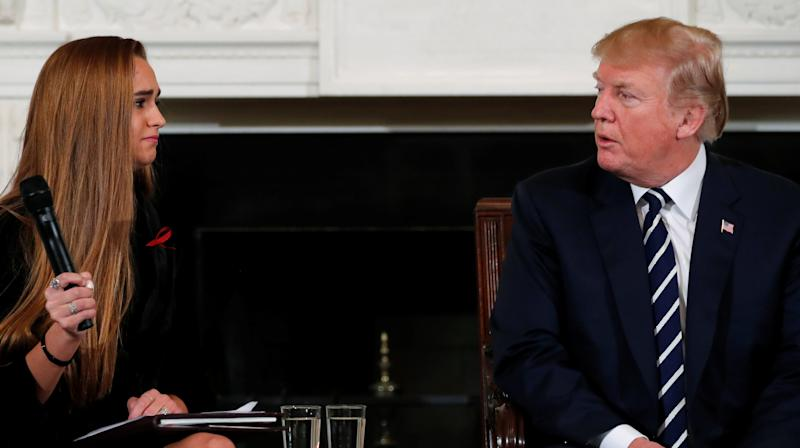Donald Trump Argues He Never Said 'Give Teachers Guns' Before Pushing To Give Some Teachers Guns