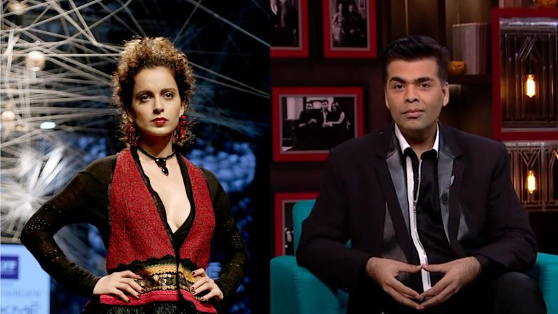 After KJo's Outburst, Is Kangana Getting Increasingly Isolated?
