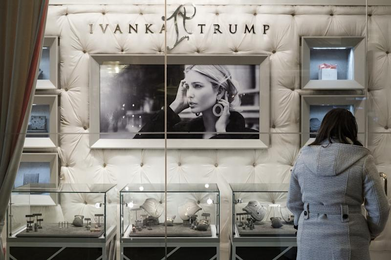 A San Francisco-based retailer is suing the Ivanka Trump label. More