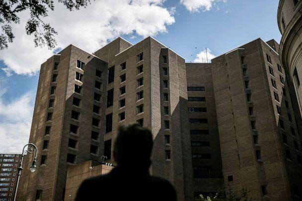 PHOTO: An exterior view of the Metropolitan Correctional Center jail where financier Jeffrey Epstein, was found dead, in New York City, Aug. 10, 2019. (Jeenah Moon/Reuters, FILE)