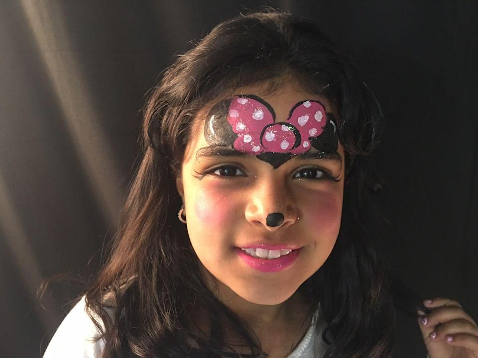 "<p>If your little one isn't into wearing mouse ears, this cute Minnie Mouse-inspired face paint makes an adorable alternative.<br><br><em><a href=""http://www.kikisfacesandballoons.com/"" rel=""nofollow noopener"" target=""_blank"" data-ylk=""slk:See more at Kiki's Faces and Balloons »"" class=""link rapid-noclick-resp"">See more at Kiki's Faces and Balloons »</a></em><br></p>"