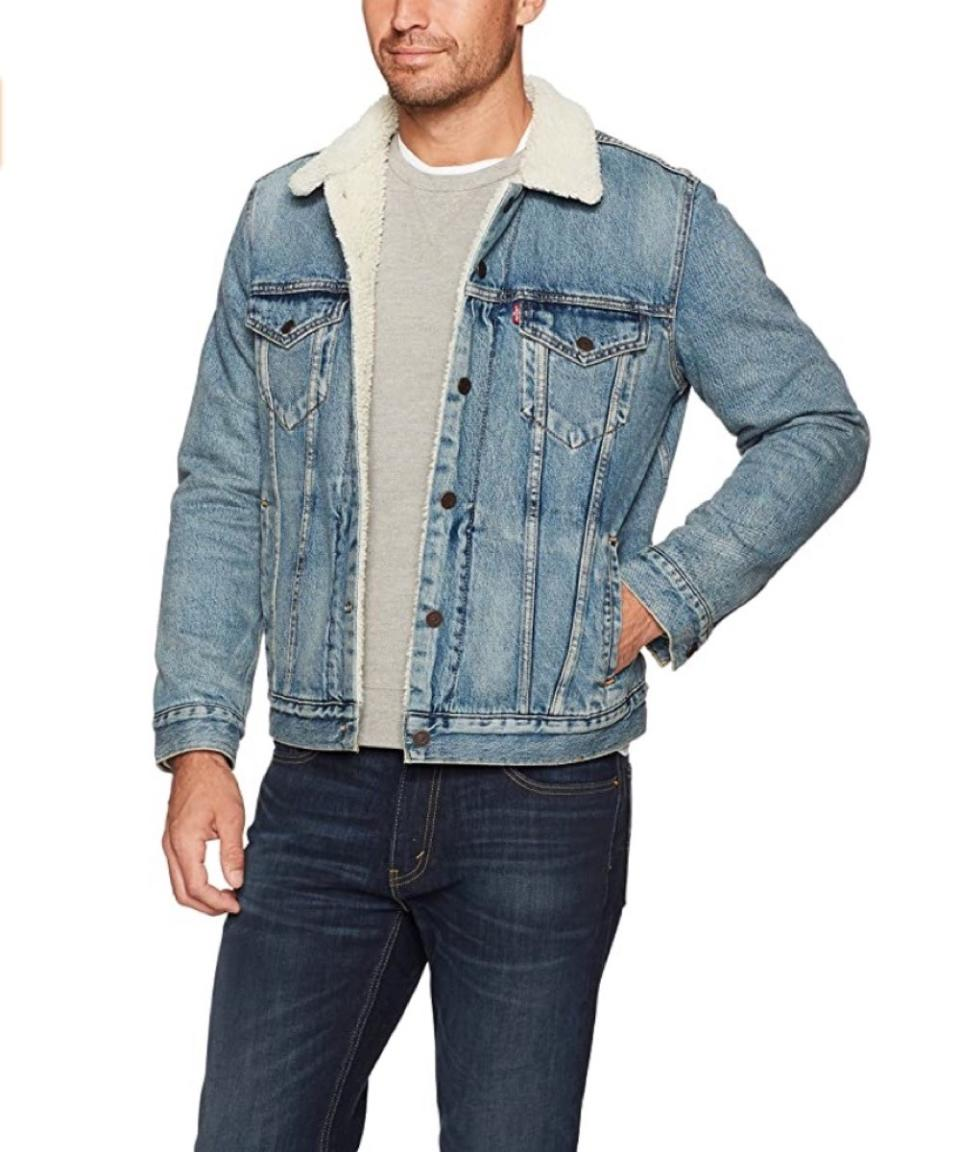 young white man in jean jacket