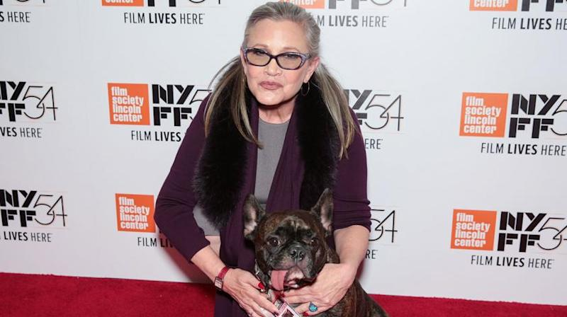 The 'Star Wars' actress died last December at age 60.
