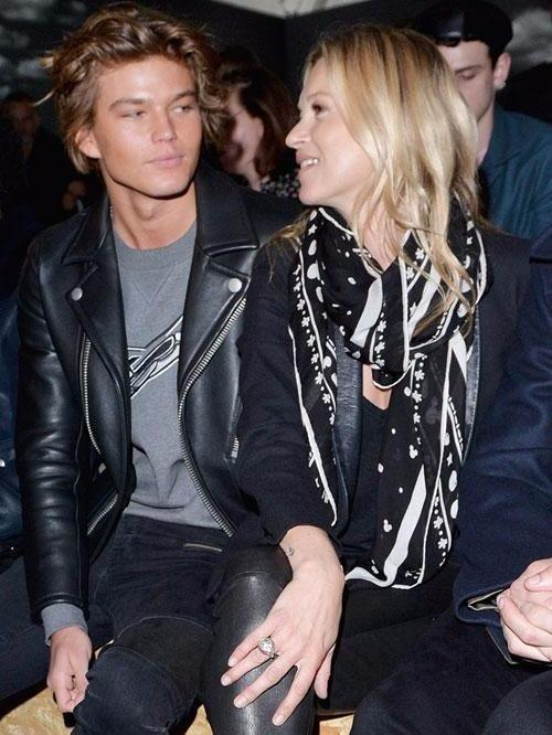 Jordan seems to have a thing for older women and has been linked to Kate Moss in the past. Source: Getty