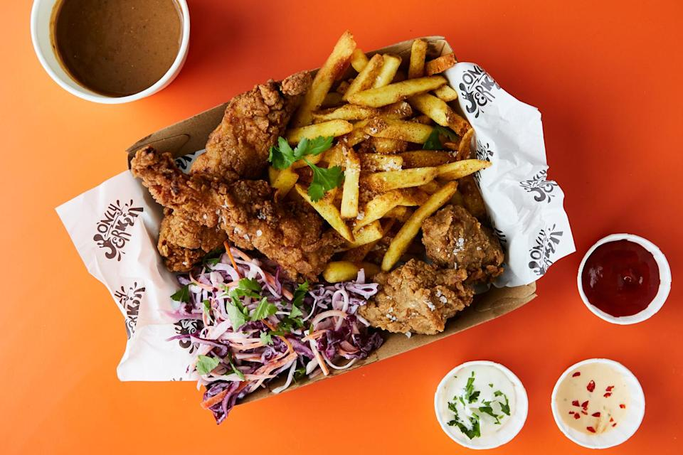 <p>Actual Jerk chicken not available at McDonalds</p>Only Jerkin'