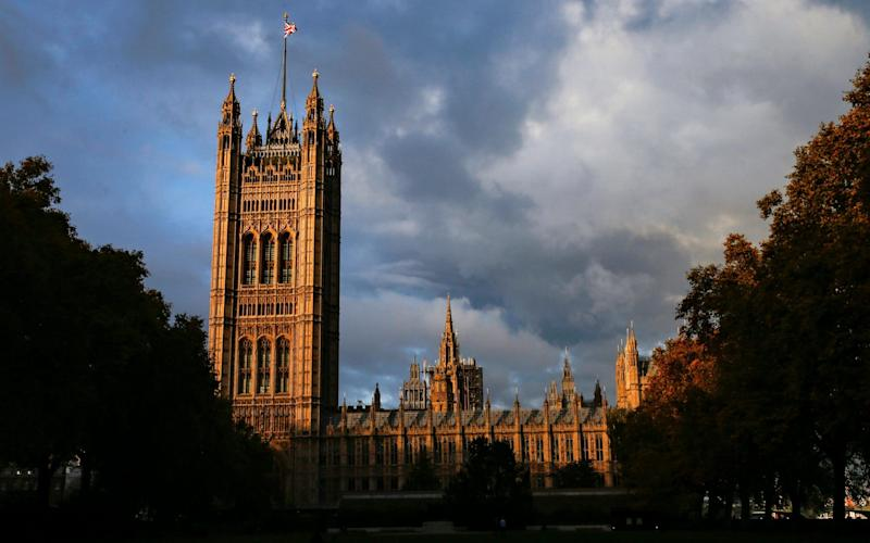 The houses of parliament - REX