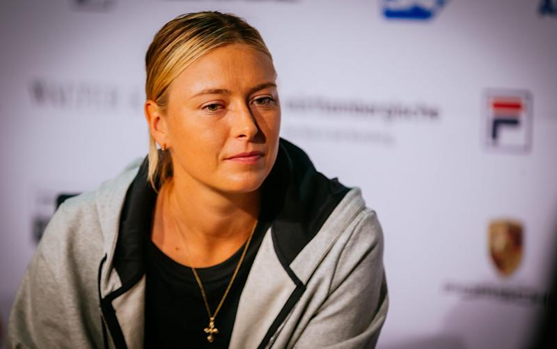 The All England Club will not make a call on Maria Sharapova's potential wildcard until June 20 - Rex Features