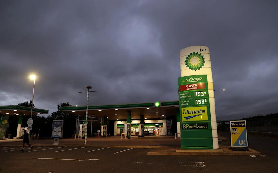 BP admitted it was struggling to transport unleaded petrol and diesel from refineries to its 1,200 forecourts - Lee Smith/Reuters