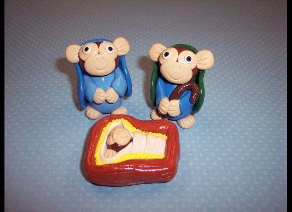 This depiction of the Nativity featuring monkeys may cause a lot of discussion over the theory of evolution.