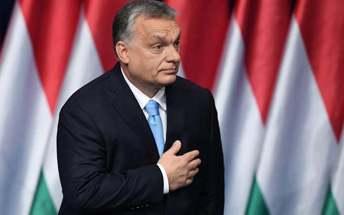 Viktor Orban, who has faced criticism by his EU allies for his illiberal policies, faces parliamentary elections next year.  - AFP