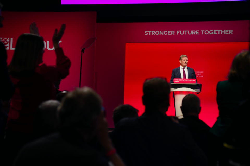 Sir Keir Starmer said Labour could win the next genera election. (PA)