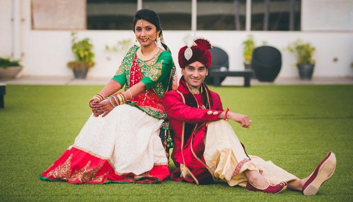 Real Indian Weddings This Gujarati Couple Will Steal Your Heart With Their Charming Innocence