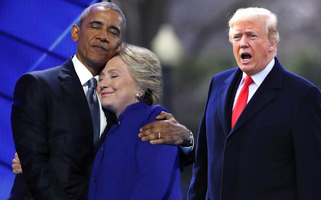 Barack Obama, Hillary Clinton and Donald Trump (Yahoo News photo illustration; photos: Carolyn Kaster/AP, Manuel Balce Ceneta/AP)