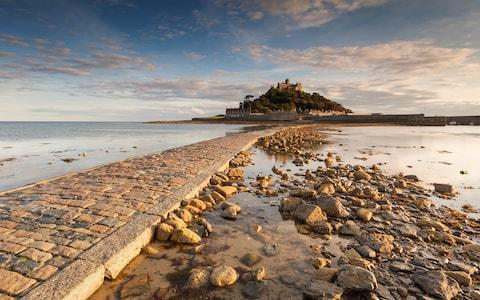 st michael's mount, cornwall, england - Credit: getty