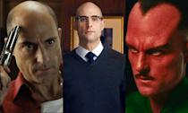 <p>Mark Strong is currently in talks to play Doctor Sivana in the <em>Shazam</em> movie but he already has three comic book roles under his belt. The British actor appeared in <em>Green Lantern</em> as Sinestro, as Merlin in the <em>Kingsman</em> movies and Frank D'Amico in <em>Kick-Ass</em>. </p>