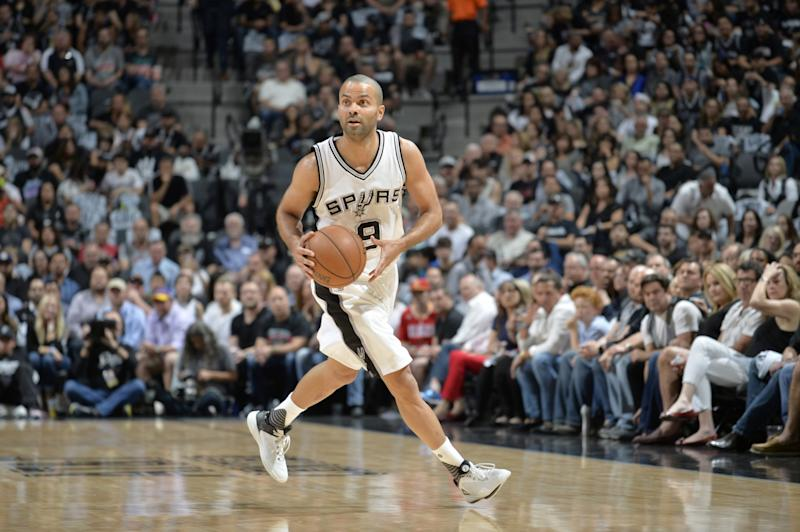 Tony Parker was averaging 15.9 points this postseason. (AP)