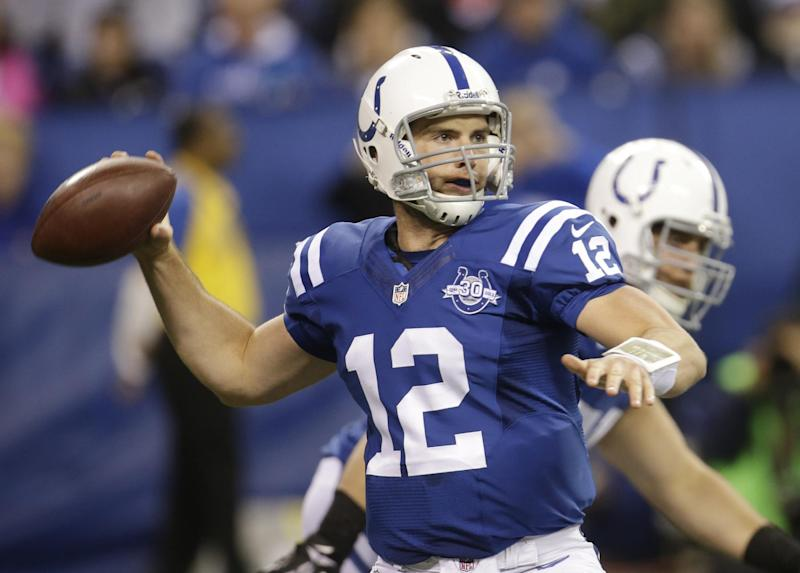 Luck aces latest test in 39-33 win over Broncos