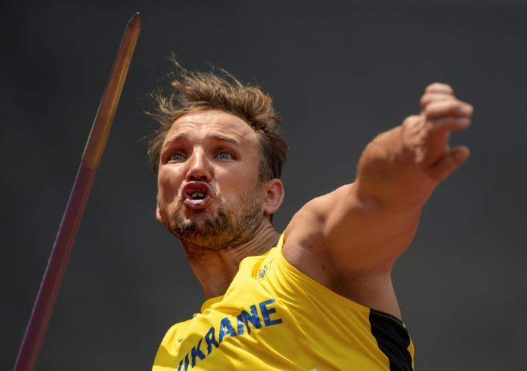 There are 45 gold medals up for grabs on the third day of competition at the Tokyo Paralympics (AFP/Joel MARKLUND)