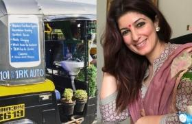 Twinkle Khanna shares picture of auto-rickshaw with washbasin, mobile charger and other amenities
