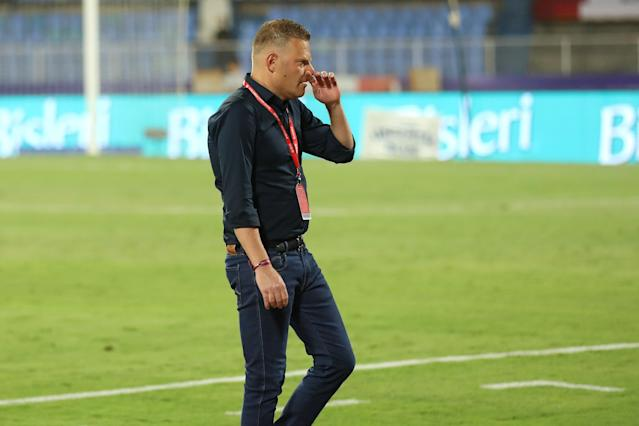 The former Barcelona youth coach chose to take the positives out of their loss to Bengaluru FC