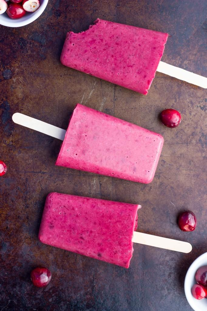 "<p>For a sweet treat, mix cranberry sauce with greek yogurt and maple syrup and freeze for these pretty pink popsicles!<br>Get the recipe <a href=""http://www.shelikesfood.com/1/post/2014/11/leftover-cranberry-sauce-greek-yogurt-popsicles.html"" rel=""nofollow noopener"" target=""_blank"" data-ylk=""slk:heres"" class=""link rapid-noclick-resp""><strong>heres</strong></a><br>[Photo: She Likes Food] </p>"