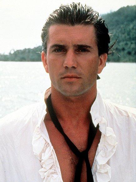 Gibson played a sailor in 1984's <em>The Bounty</em>.