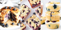 """<p>I absolutely love blueberries. In fact, when they're in season, I eat the little berries every single day for breakfast because they're filling, low in fat, high in Vit C, and seriously tasty. But if you're not in the mood for eating them by the handful, or topping yoghurt or <a href=""""https://www.delish.com/uk/cooking/recipes/a30386930/best-granola-recipe/"""" rel=""""nofollow noopener"""" target=""""_blank"""" data-ylk=""""slk:granola"""" class=""""link rapid-noclick-resp"""">granola</a> with them - there's a bunch of delicious recipes to add blueberries to. From classic <a href=""""https://www.delish.com/uk/cooking/recipes/g33534047/blueberry-recipes/?slide=1"""" rel=""""nofollow noopener"""" target=""""_blank"""" data-ylk=""""slk:blueberry muffins"""" class=""""link rapid-noclick-resp"""">blueberry muffins</a> to <a href=""""https://www.delish.com/uk/cooking/recipes/g33534047/blueberry-recipes/?slide=7"""" rel=""""nofollow noopener"""" target=""""_blank"""" data-ylk=""""slk:blueberry cheesecake"""" class=""""link rapid-noclick-resp"""">blueberry cheesecake</a> and even a <a href=""""https://www.delish.com/uk/cooking/recipes/g33534047/blueberry-recipes/?slide=16"""" rel=""""nofollow noopener"""" target=""""_blank"""" data-ylk=""""slk:blueberry salsa"""" class=""""link rapid-noclick-resp"""">blueberry salsa</a> (yes really) here are our favourite blueberry recipes. </p>"""