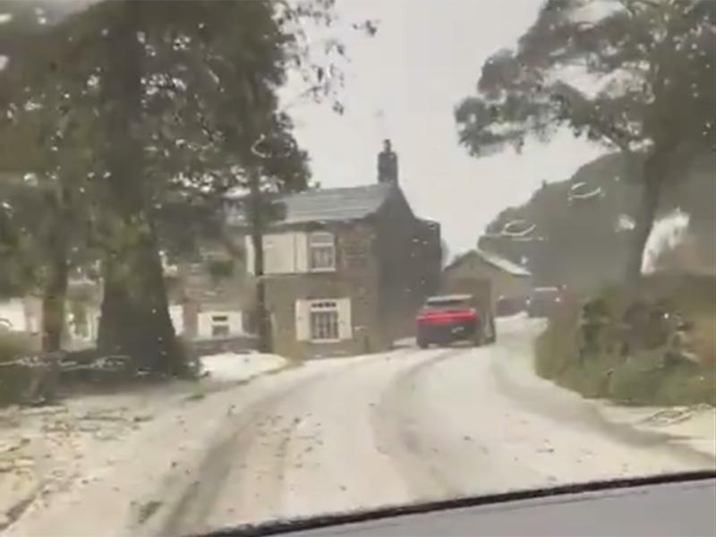Driver warned of 'sleet and snow' north of Leeds on Thursday nightRichard Ford