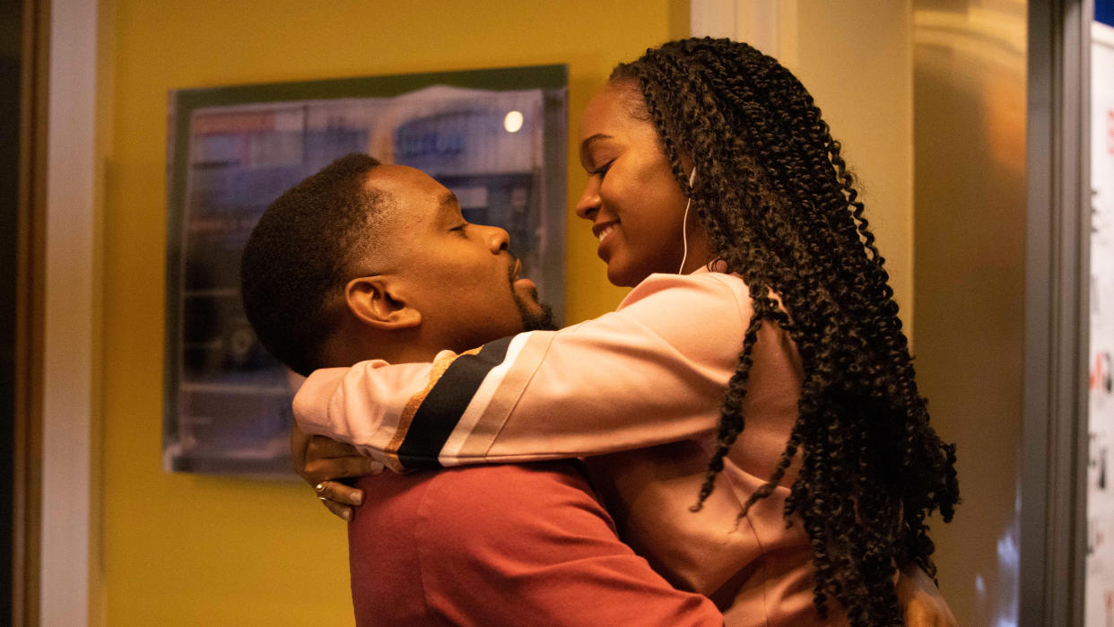 Aml Ameen makes his directorial debut with 'Boxing Day' and also takes on the lead role. (Rekha Garton/Warner Bros)