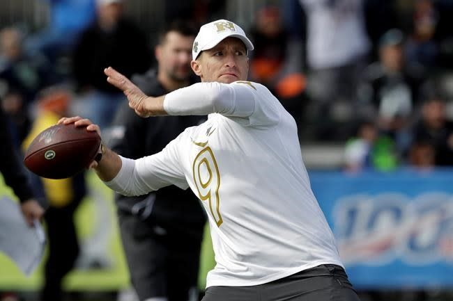 Drew Brees to donate $5M to support Louisiana health care