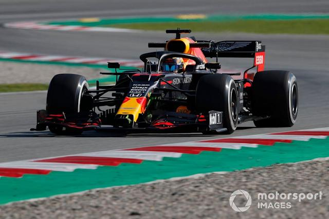 "Red Bull Racing RB16 <span class=""copyright"">Zak Mauger / Motorsport Images</span>"