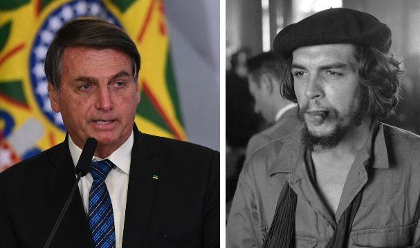 Il presidente Bolsonaro; Che Guevara (Photo: getty)