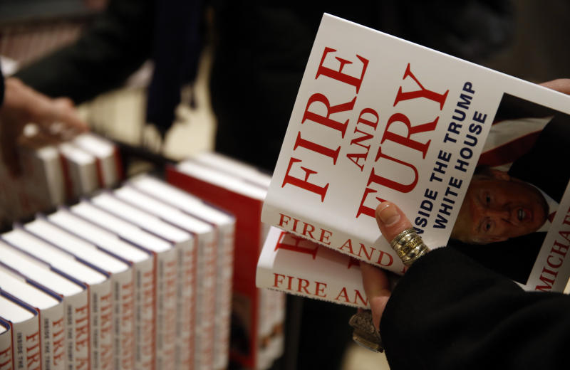 'Fire and Fury' sales top 29,000 in first weekend