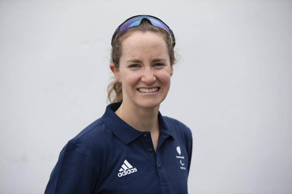 ITU world champion Claire Cashmore switched from swimming to triathlon for Tokyo (picture: Imagecomms)