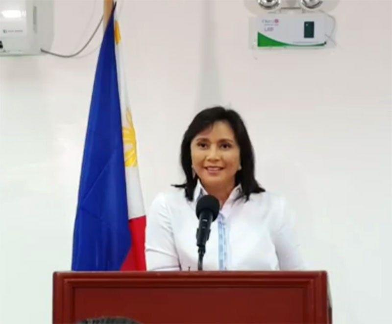 Robredo to Duterte: What are you scared of?