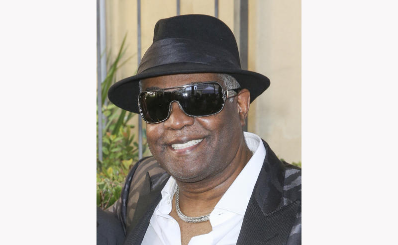 "Ronald ""Khalis"" Bell attends a ceremony honoring Kool & The Gang with a star on The Hollywood Walk of Fame on Oct. 8, 2015, in Los Angeles. Bell, a co-founder and singer in the group, has died. He was 68. Publicist Sujata Murthy says Bell died at his home in the U.S. Virgin Islands with his wife by his side. The cause of death has not been released. (Photo by Rich Fury/Invision/AP, file)"