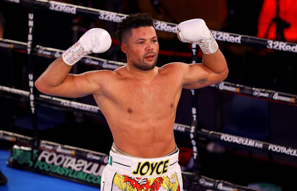 Joe Joyce pulled off a stunning victory over British rival Daniel Dubois in NovemberGetty