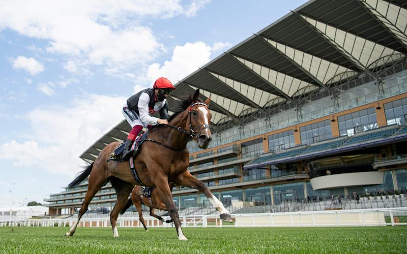 Frankie Dettori and Frankly Darling triumphed at Royal Ascot - GETTY IMAGES