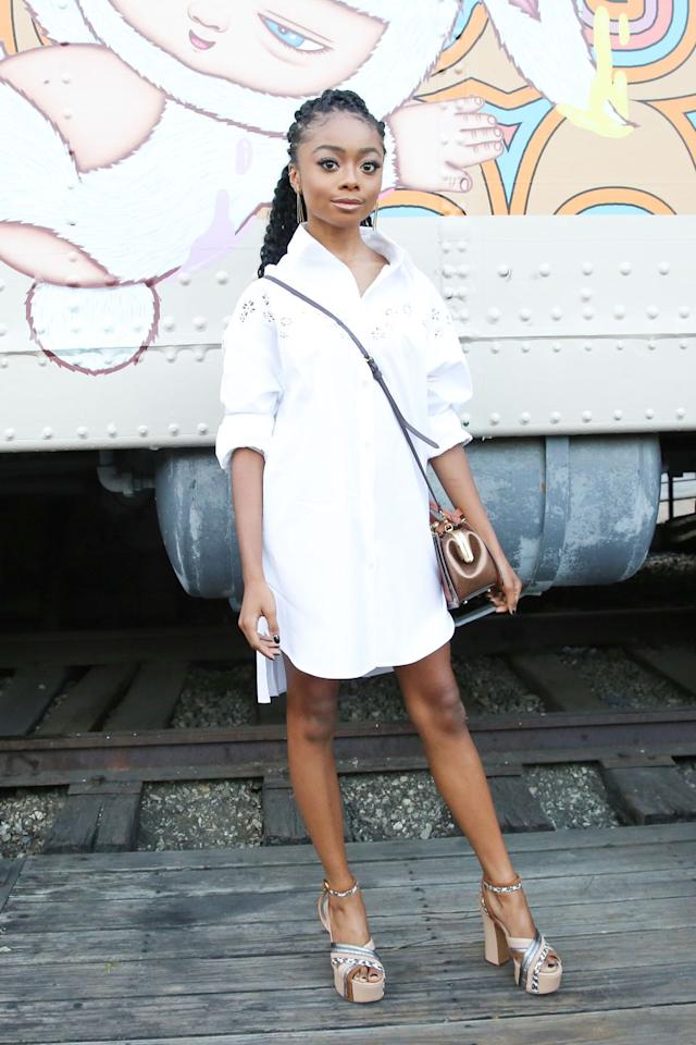<p>Coach hosted a party for its Art of Signature Pop-Up at Carney's railroad car restaurant in Los Angeles.</p>