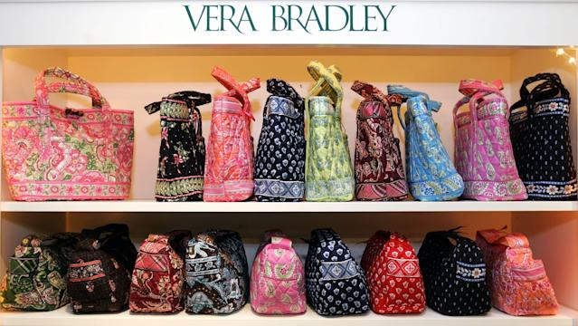 <p><strong>Top handbag brands</strong><br>No. 5: Vera Bradley<br>6 per cent of teens<br>(Canadian Press) </p>