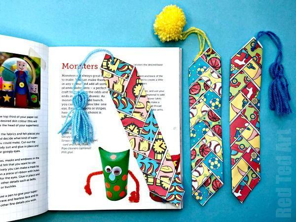 """<p>Dads who are always losing their place in a book will love having their own paper-woven bookmark, which is easier to make than it looks. </p><p><strong><em>Get the tutorial from <a href=""""https://www.redtedart.com/paper-weaving-printable-fathers-day-bookmark/"""" rel=""""nofollow noopener"""" target=""""_blank"""" data-ylk=""""slk:Red Ted Art"""" class=""""link rapid-noclick-resp"""">Red Ted Art</a>. </em></strong></p><p><a class=""""link rapid-noclick-resp"""" href=""""https://www.amazon.com/AmazonBasics-Purple-Dries-Sticks-4-Pack/dp/B07J9NFKB5?tag=syn-yahoo-20&ascsubtag=%5Bartid%7C10070.g.2461%5Bsrc%7Cyahoo-us"""" rel=""""nofollow noopener"""" target=""""_blank"""" data-ylk=""""slk:SHOP GLUE STICKS"""">SHOP GLUE STICKS</a></p>"""