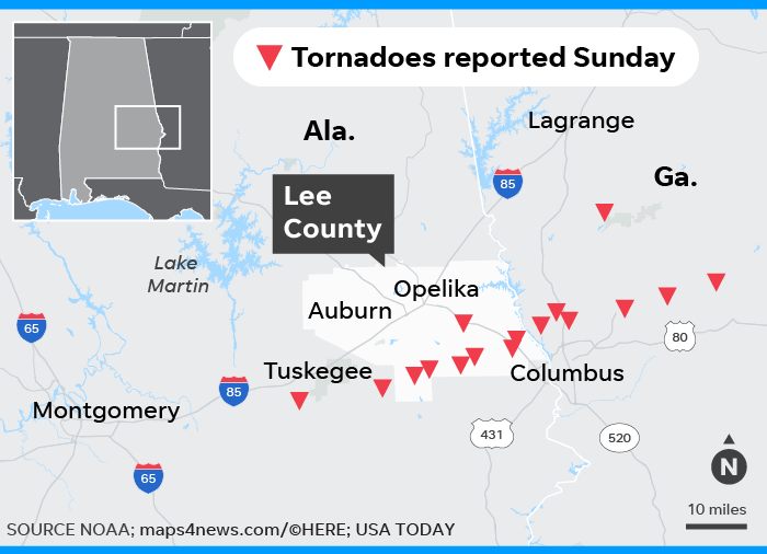 'Everything's gone': Stunned Alabama searches for missing after tornado kills 23