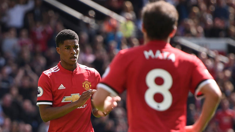 Mata names Rashford as most talented Man Utd academy product and reveals 'very close' relationship with Fernandes