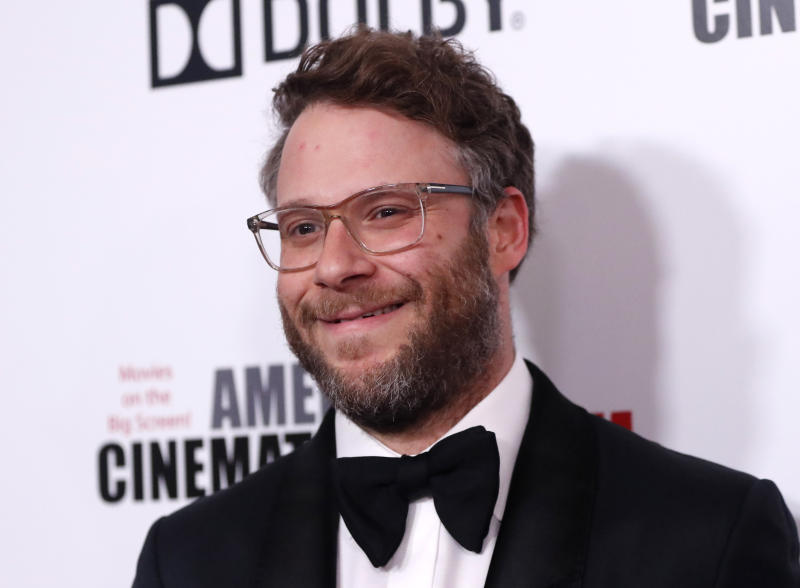 2019 American Cinematheque Award - Arrivals - Beverly Hills, California, U.S., November 8, 2019 - Seth Rogen. REUTERS/Mario Anzuoni