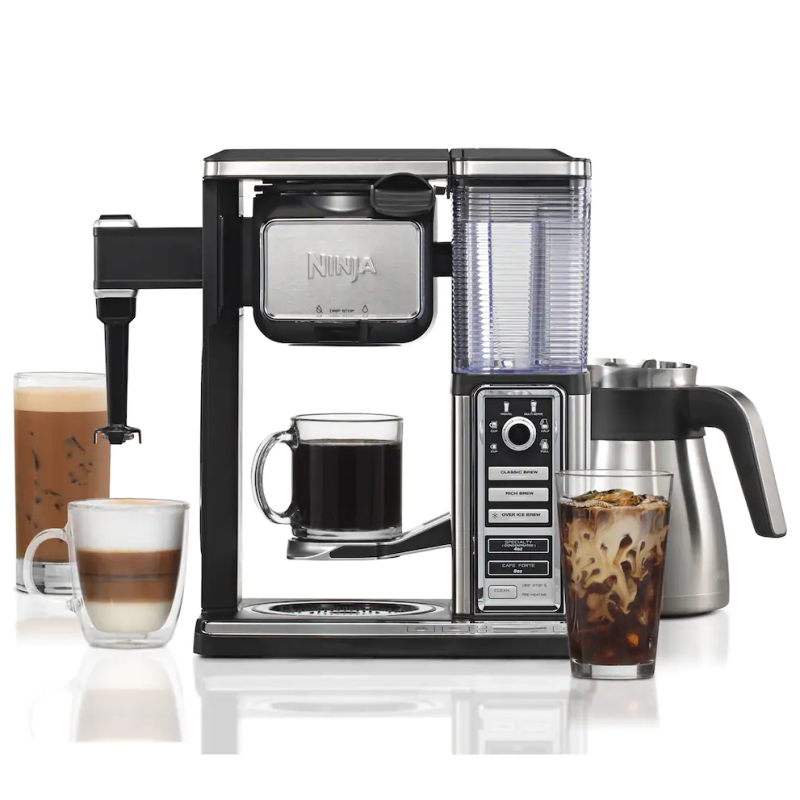 Create pro-style iced coffees, cappuccinos, lattes, layered drinks, and more. (Photo: Walmart)
