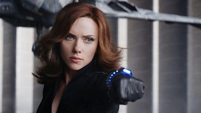 """<p>Due to Covid-19, <em>Black Widow </em>has been delayed for more than a full year. That's OK—we still think Scarlett Johansson's first solo <a href=""""https://www.menshealth.com/entertainment/a36132160/marvel-movies-ranked/"""" rel=""""nofollow noopener"""" target=""""_blank"""" data-ylk=""""slk:MCU"""" class=""""link rapid-noclick-resp"""">MCU</a> outing has a strong chance to be very, very good. The evidence? A story that takes place between <em>Civil War </em>and <em>Infinity War, </em>and finds Natasha/Black Widow meeting up with characters played by David Harbour, Rachel Weisz, and the upcoming superstar who might just become the new Black Widow, <em>Midsommar </em>and <em>Little Women </em>starFlorence Pugh. And that's not even to mention that <em>Black Widow </em>seems to fit into the same MCU subgenre—spy and espionage films—where <em>Captain America: The Winter Soldier </em>and <em>Captain America: Civil War </em>seem to exist. We're excited, to say the least. </p>"""