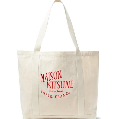 Maison Kitsune Palais Royal bag, £50, Mr Porter
